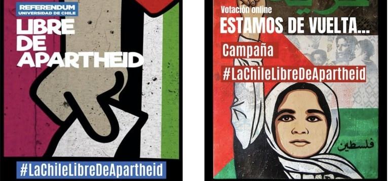 NO a la #LaChileLibredeApartheid NO caigas en el BDS