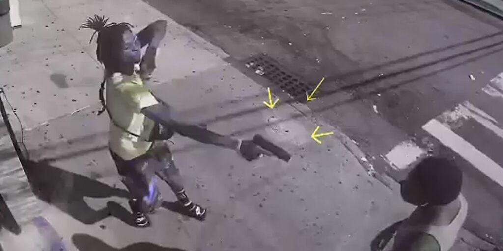 Video: Ex futbolista universitario baleado tras incidente menor en bodega de Nueva York