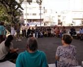 """Vecinos y vecinas realizaron asamblea en la""""Plaza del Sol"""""""