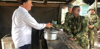 Presidente Varela en frontera Panamá Colombia