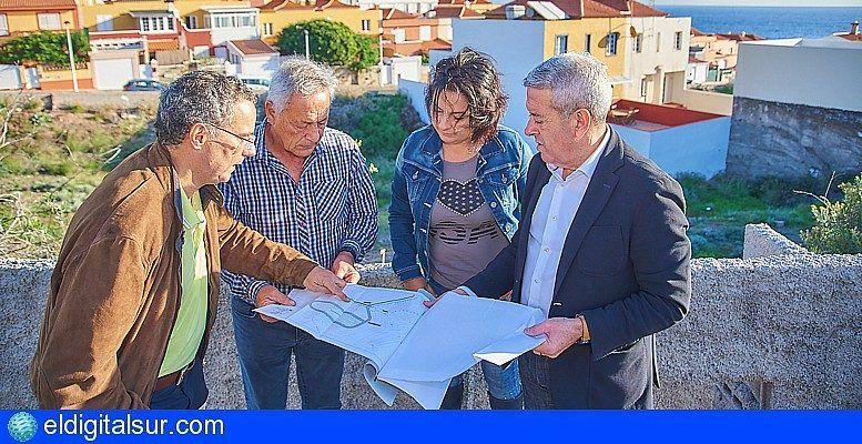 El Cabildo inicia en Fasnia la obra para renovar la red de abastecimiento de agua de Los Roques - eldigitalsur