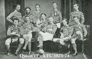 Queen´s Park FC equipo de 1873-74