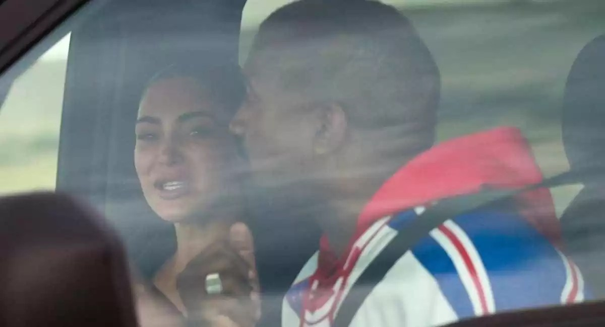 Fotos: Captan a Kim Kardashian llorando al ver a Kanye por primera vez  luego del escándalo | eldominicano.do