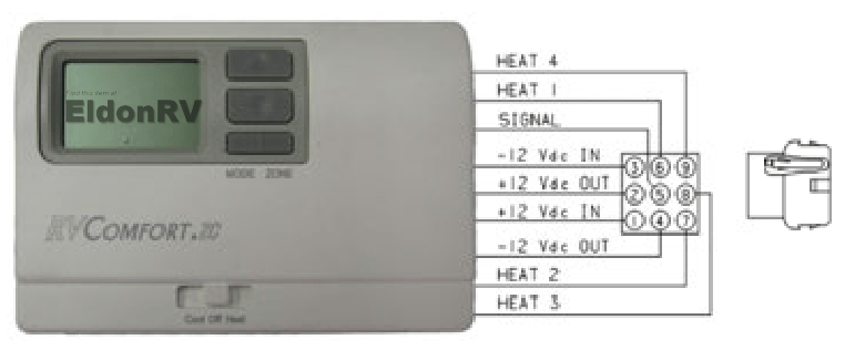 coleman thermostat eldon rv wiring diagram