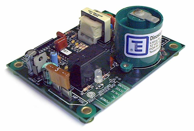 Atwood 91367 Replacement Small Circuit Board With Fuse And Spade
