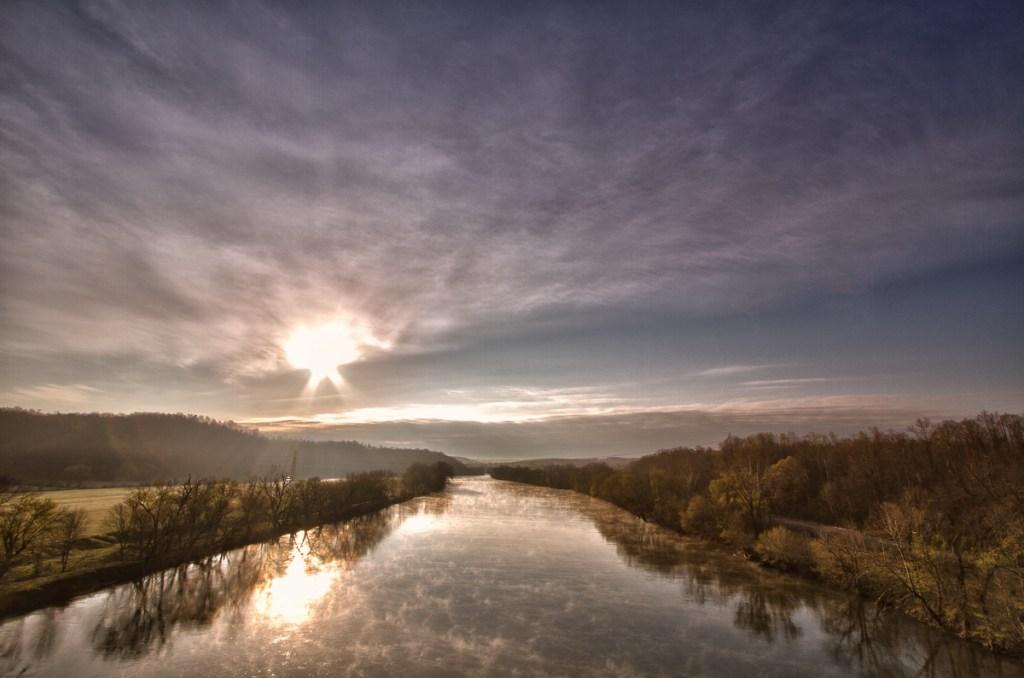 A Bridge Across - River - Photo