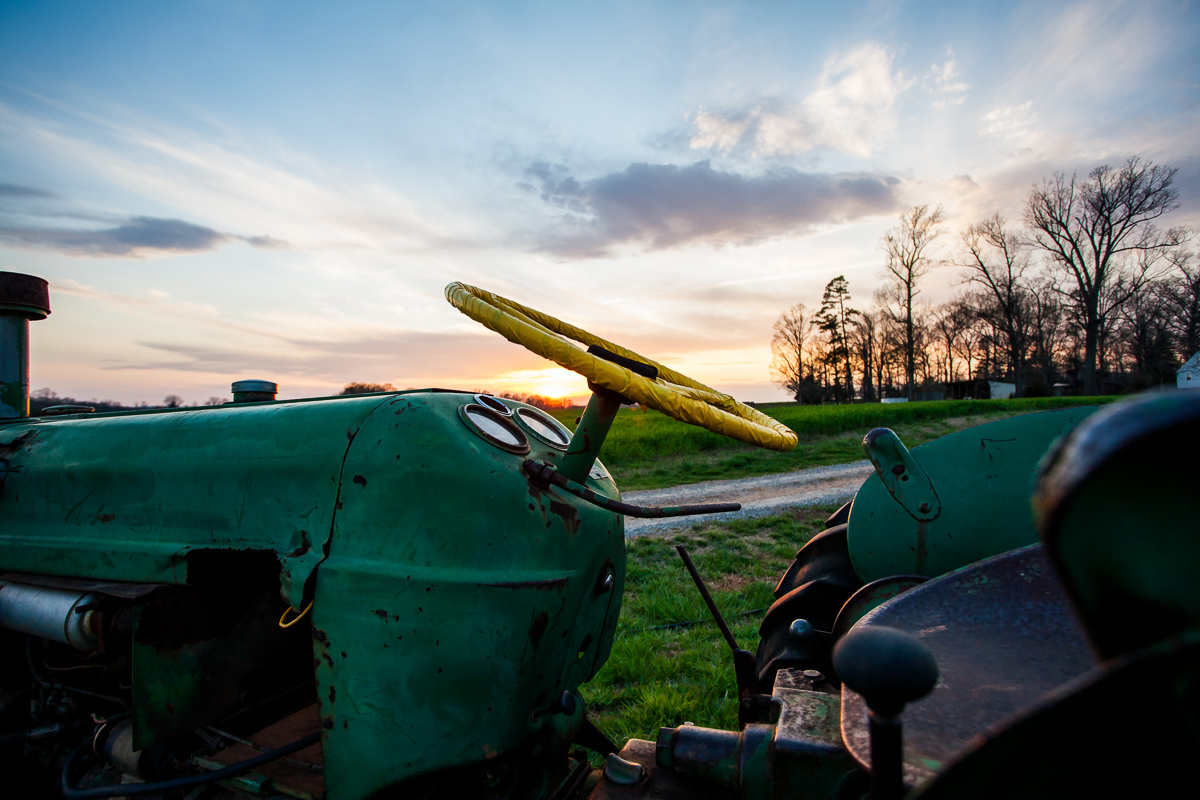 Straight From The Olden Days - Tractor - Photo