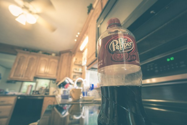 This is a Bottle of Dr Pepper.