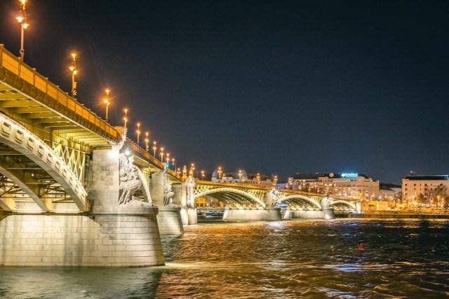 Margaret Bridge at Night