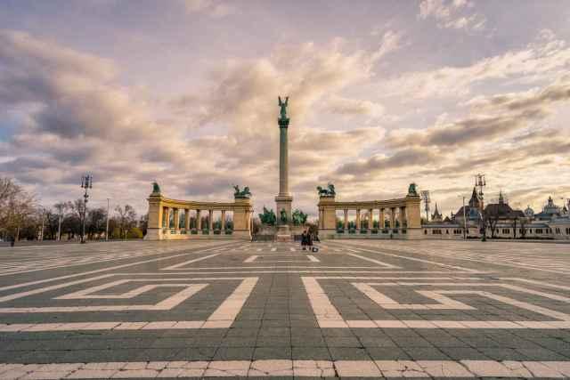 Hero's Square and Millennium Monument