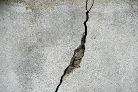 fissure mur location
