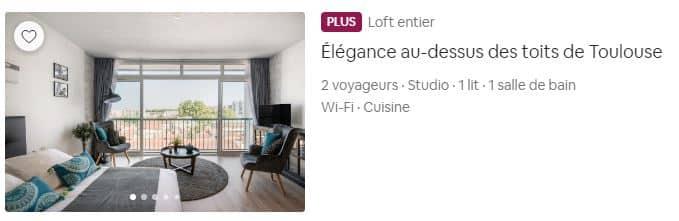 Exemples des badges sur Airbnb