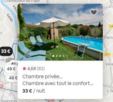 Vignette commentaires airbnb