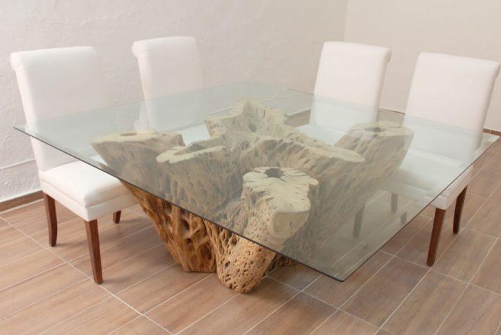 Base para mesa de Comedor de Cactus  El Dorado Galeria