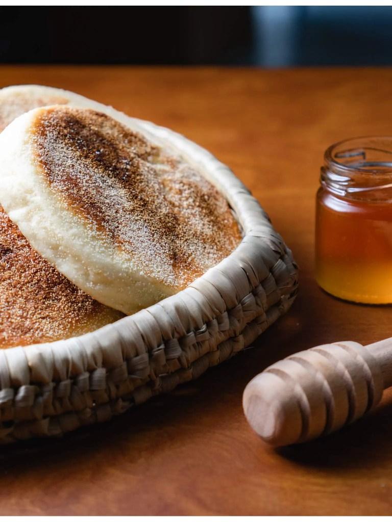 batbout pain marocain semoule fine