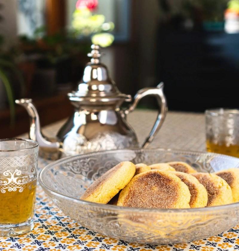 Harcha et verres de thé