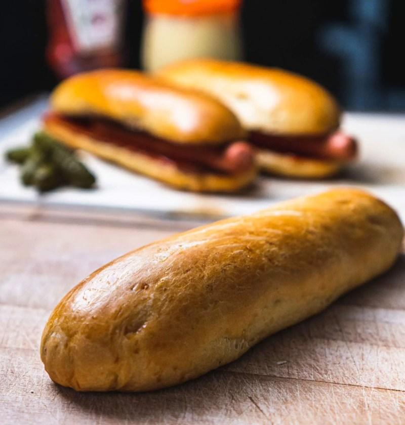 Pain Hot-Dog Brioché