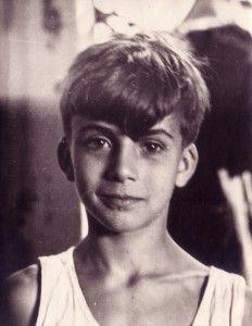 Michael Ende a la edad de diez años