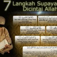 7 Langkah agar dicintai Allah