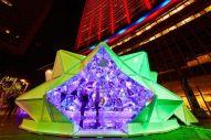 origami-light-installation