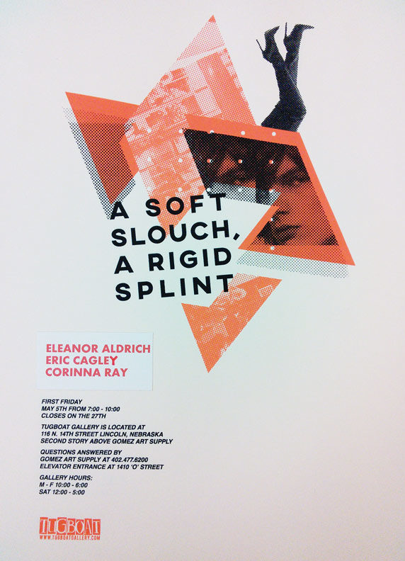 poster for A Soft Slouch, a Rigid Splint
