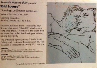 Eleanor Dickinson exhibit 2014