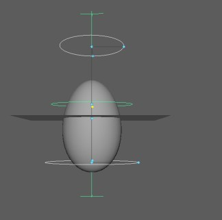 Stretch example. I like how easy it is on Maya to create realistic extremes