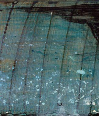 © 2012-15 Eleanore Ditchburn, Pier #2 Acrylic on panel 13 x 18 cm