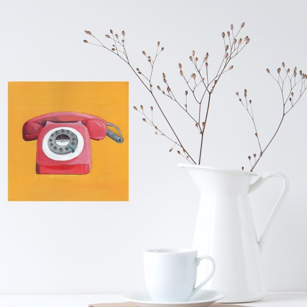Red Phone by Eleanore Ditchburn at eleanoreditchburn.com