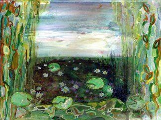 Waterlilies 2 Eleanore Ditchburn