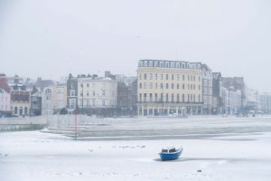 The blue boat, Margate