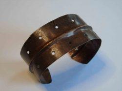 Dark cuff bracelet
