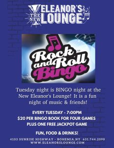 Rock & Roll Bingo @ Bohemia | New York | United States