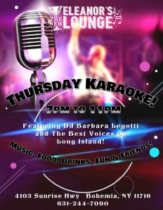 Karaoke Thursday @ Bohemia | New York | United States