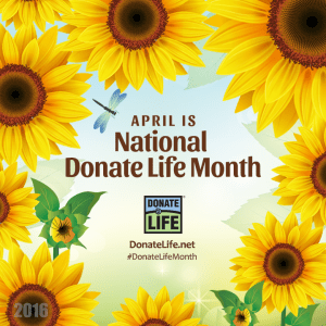 Save a life! Become an organ and tissue donor.