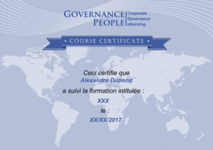 Governance People CERTIFICAT Lambda