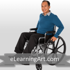 Wheelchair Man Loveseat And Two Chairs Arrangement Christopher Hispanic In Elearningart