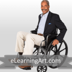 Wheelchair Man Christmas Chair Covers Blue Rick Black In Elearningart
