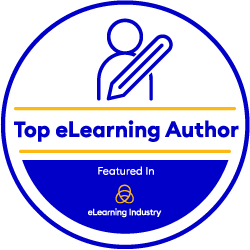 eLearning Industry author badge