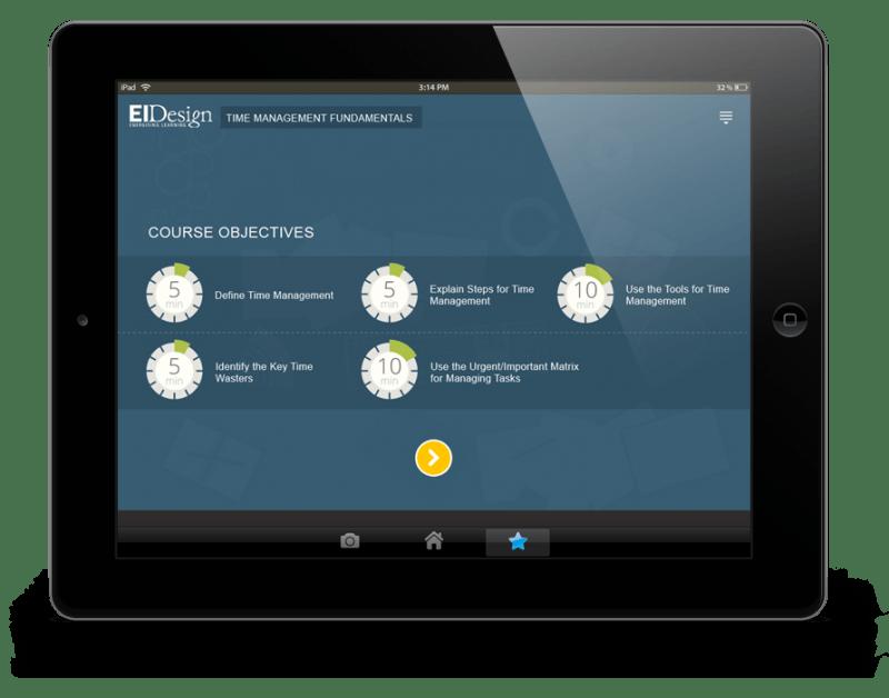 Benefits Of mLearning EI Design Time Management