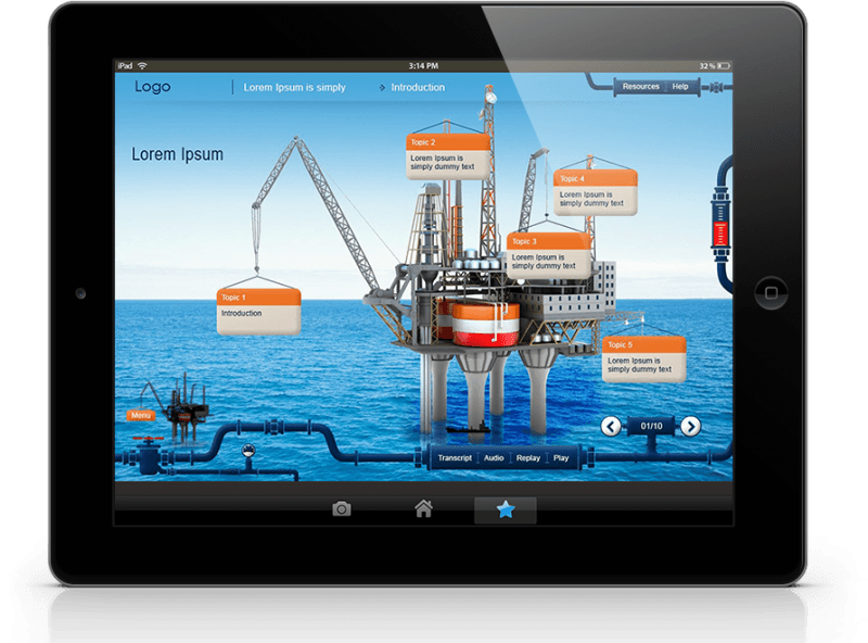 Benefits Of mLearning EI Design oil and gas