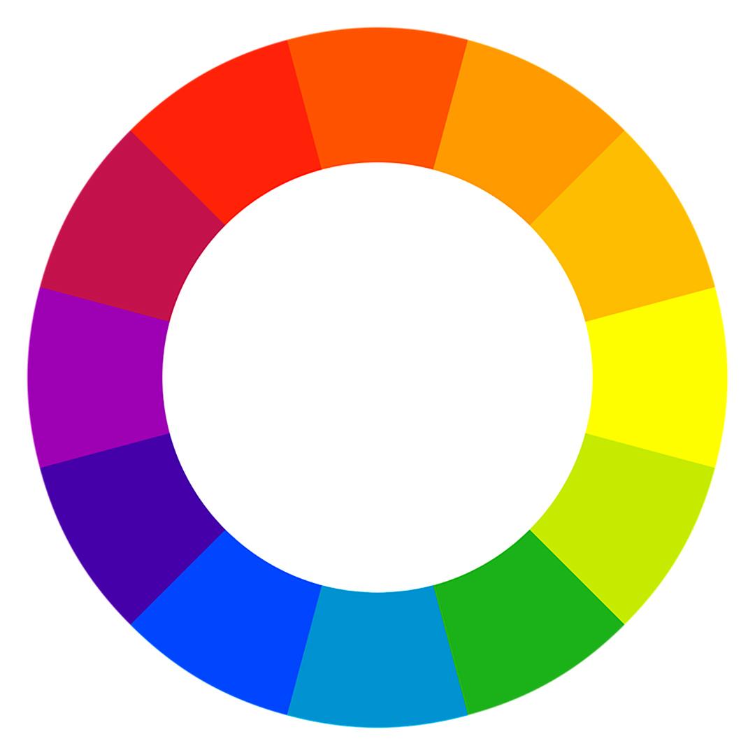 Paleta de colores para curso virtual