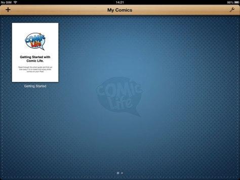 Comic Life Screenshor