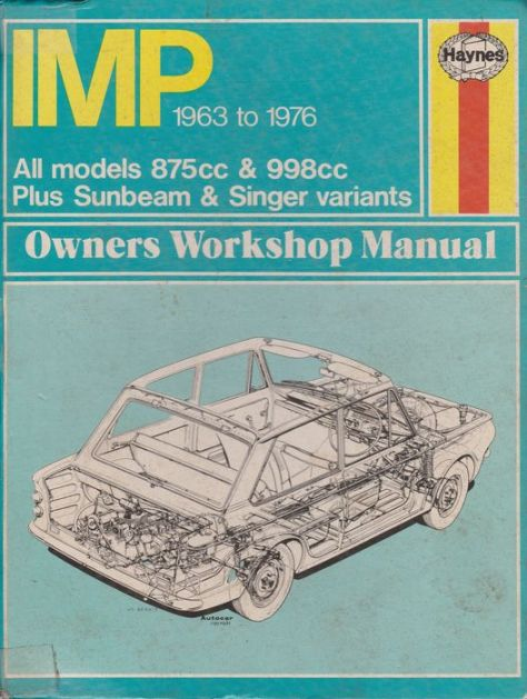 Haynes Hillman Imp manual