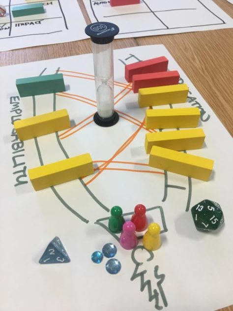 The student's game