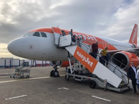 EasyJet at Bristol Airport