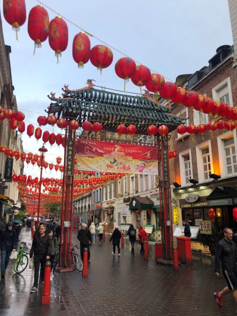 Chinatown in Soho in London by James Clay