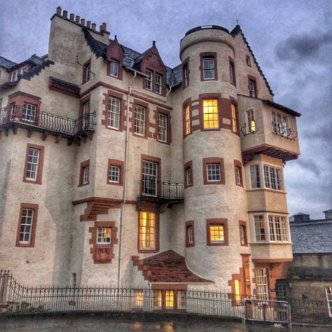 Ramsay Garden in Edinburgh