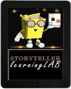 Storyteller learningLAB logo