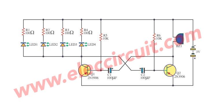 Simple Metronome Using Transistor